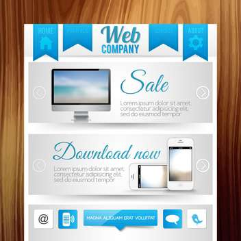 website templates internet background - vector gratuit #134198