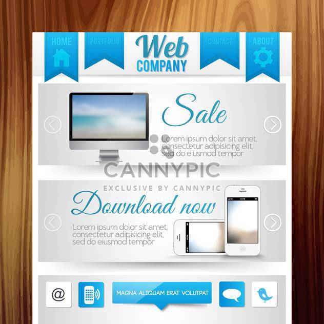 website templates internet background - Free vector #134198