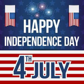 usa independence day poster - Free vector #134368