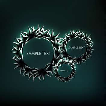 abstract vector frame background - бесплатный vector #134868