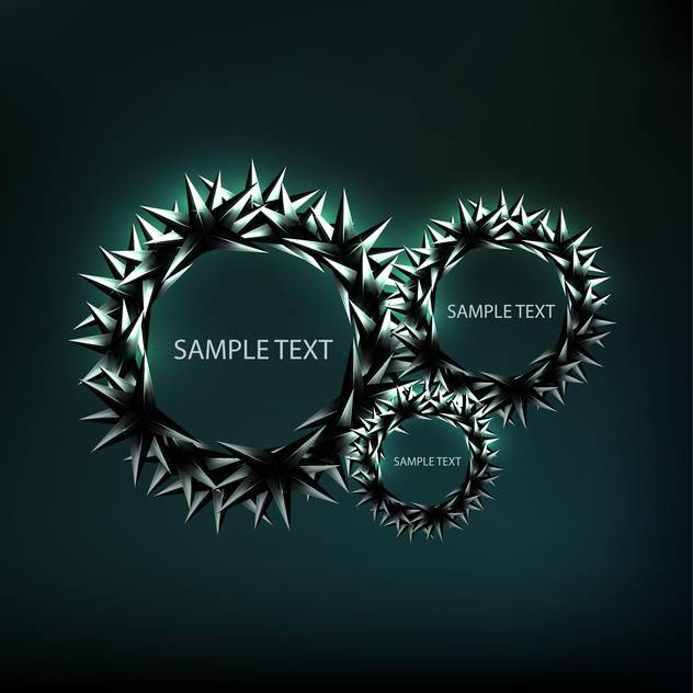 abstract vector frame background - Free vector #134868
